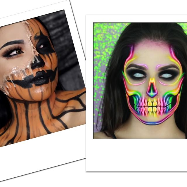 Easy Halloween Makeup Tutorials 2019 Best Halloween Beauty
