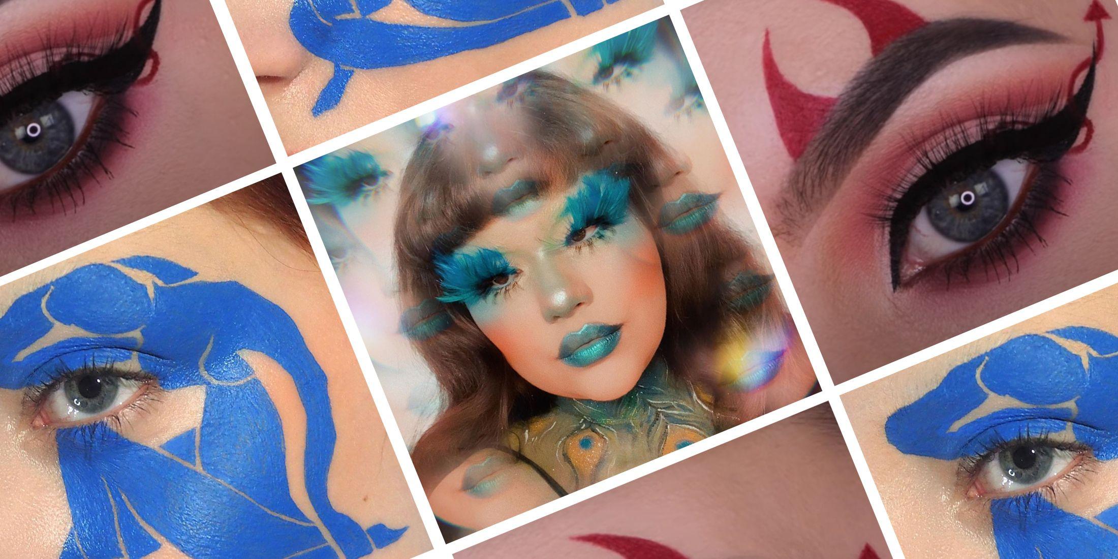 Halloween Inspired Eye Makeup.The Best Halloween Eye Makeup Looks For 2020 Halloween Eye Makeup Ideas