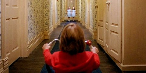 THE SHINING, Danny Lloyd, Lisa Burns, Louise Burns, 1980, (c) Warner Brothers/courtesy Everett Colle