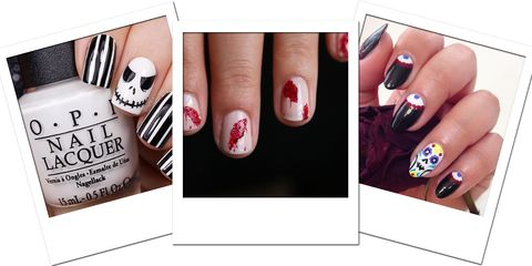 16 Diy Halloween Nail Art Ideas Best Nail Designs And Manicure