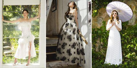 Wedding dress, Gown, Clothing, Dress, White, Photograph, Bridal clothing, Shoulder, Bride, Fashion,