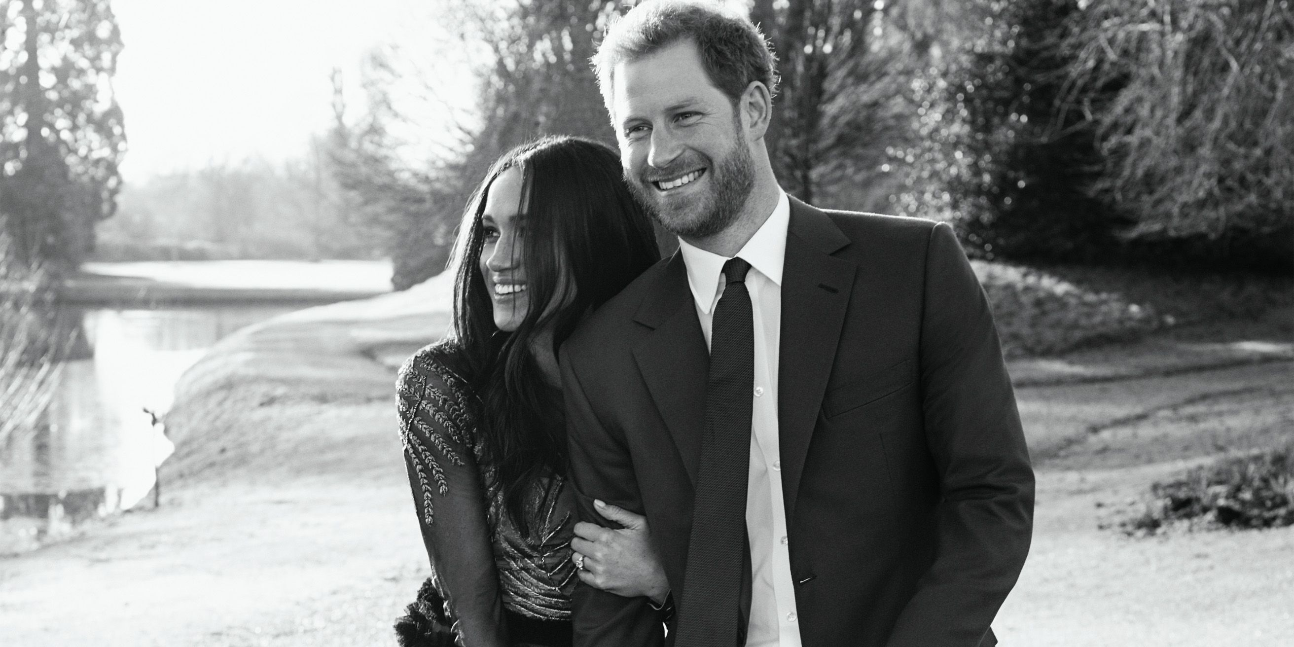 prince harry and meghan markle official engagment photos prince
