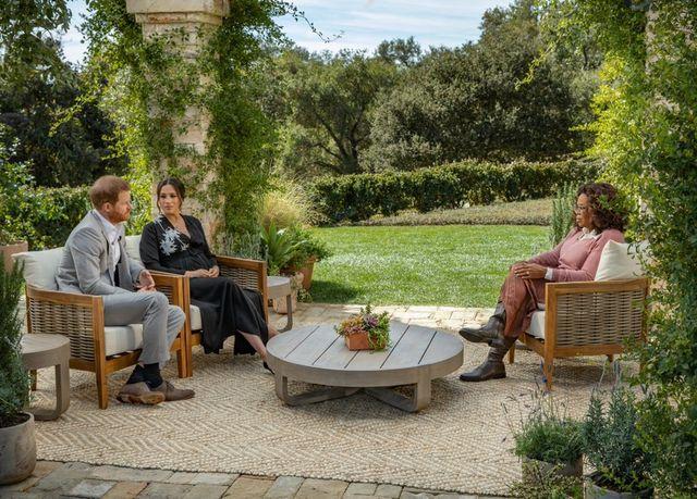 prince harry, meghan markle, oprah interview