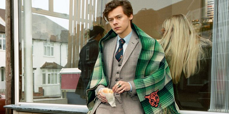 Harry Styles Stars In Gucci Men S Tailoring Campaign