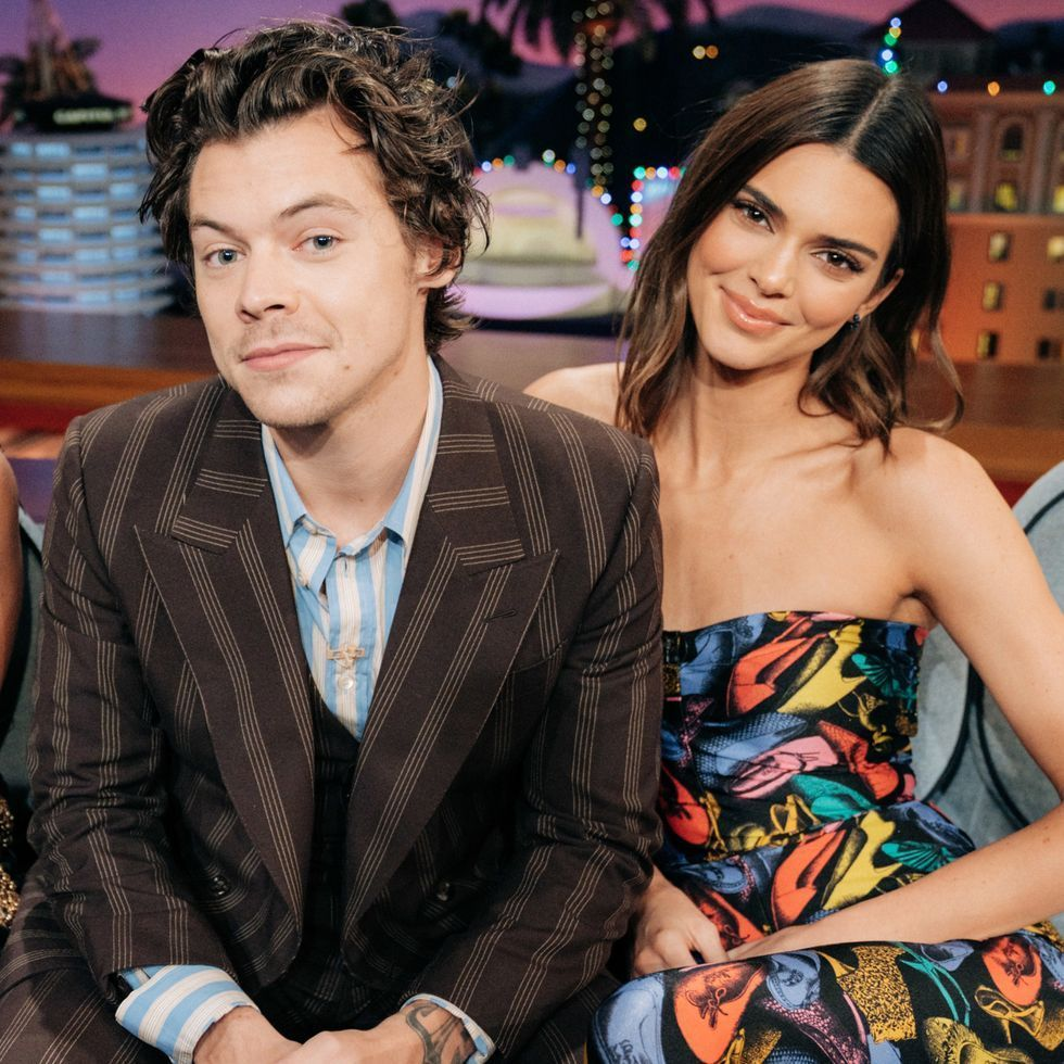 Kendall Jenner and Harry Styles Do Social Distancing in Style