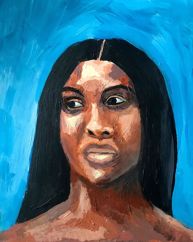 self portrait by raven leilani, the author of luster