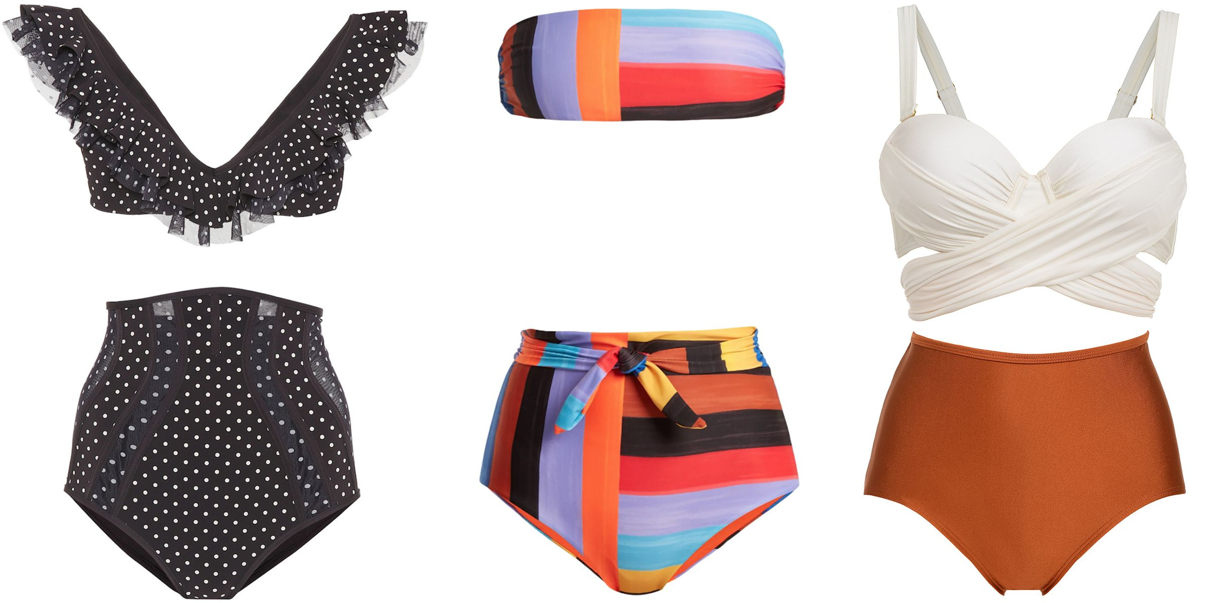 The Sexiest High-Waisted Bikinis For Your Next Beach Getaway