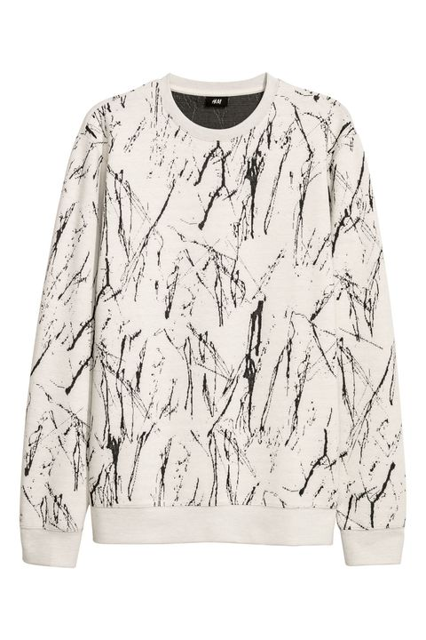 Clothing, White, Sweater, Sleeve, Outerwear, Long-sleeved t-shirt, T-shirt, Top, Blouse, Sweatshirt,