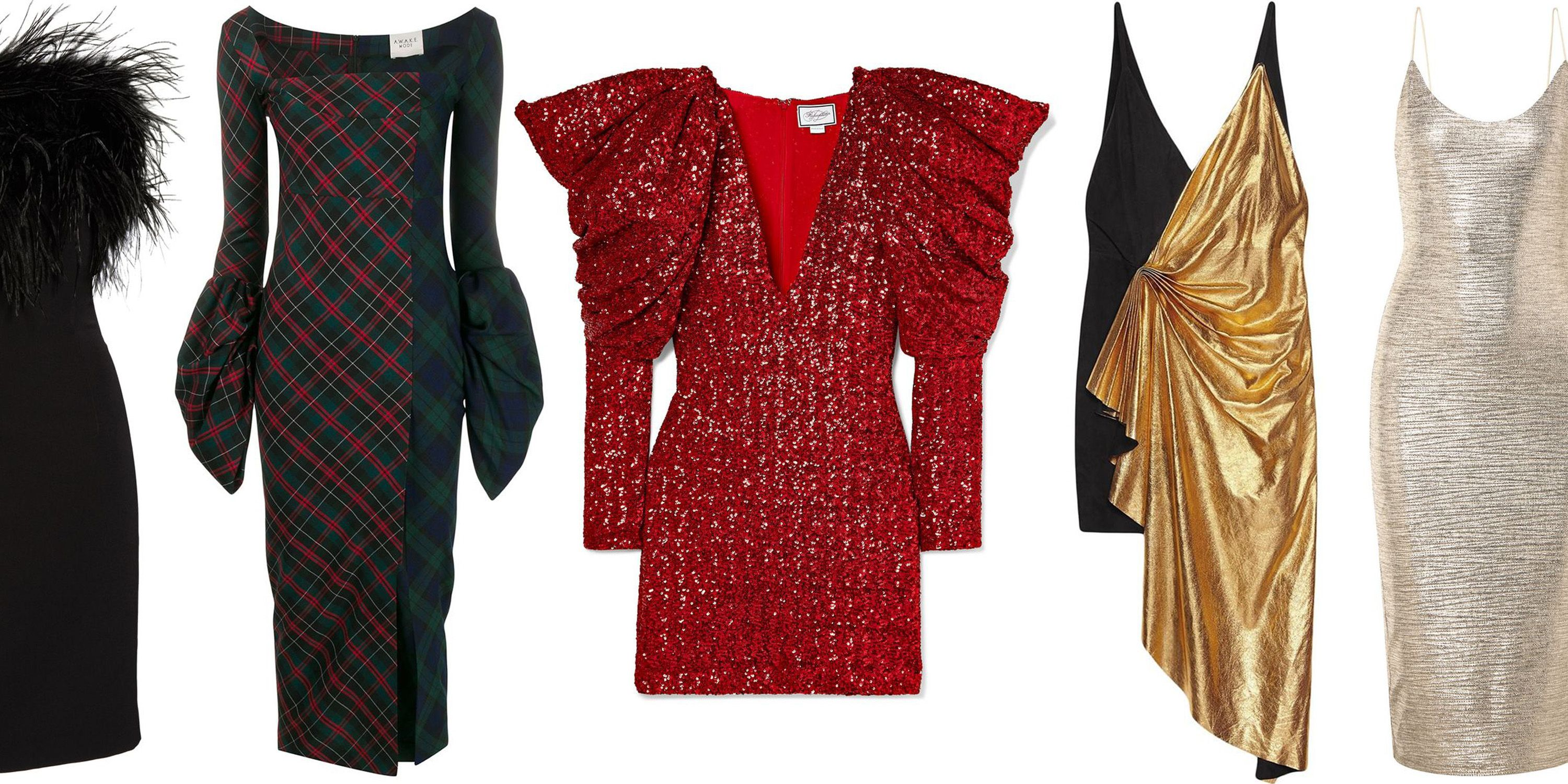 27 Festive Holiday Dresses for Cocktail Party Season