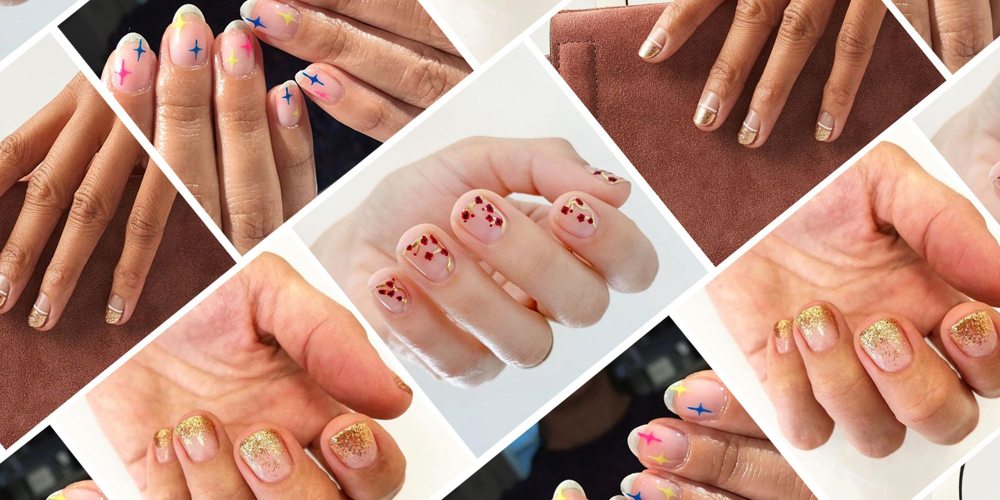 20 Holiday Nail Designs for Festive Manicures 2019 , Cute