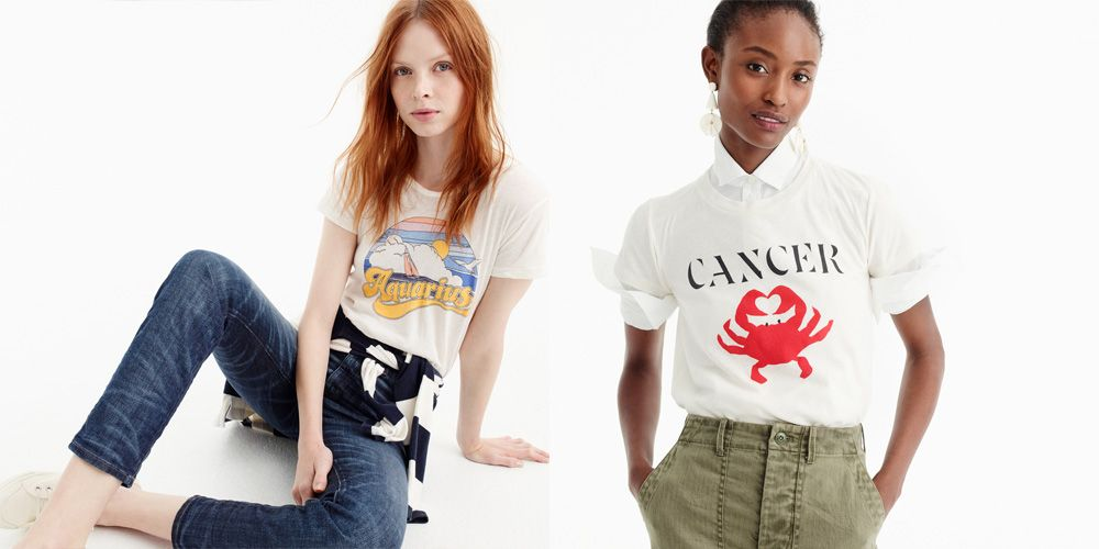 j crew horoscope t shirt collections j crew horoscope t shirt2465378 Garfield Aquarius Shirt #6