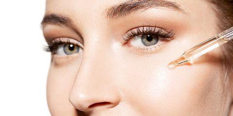 Face, Eyebrow, Eyelash, Nose, Skin, Eye, Cheek, Beauty, Head, Close-up,