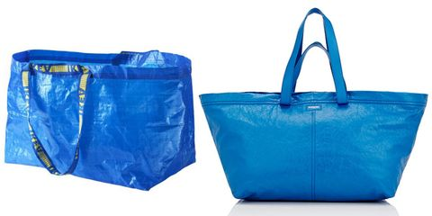 5232e484d97f2 Ikea Trolls Balenciaga s Lookalike Tote In Best Way Possible - Ikea ...