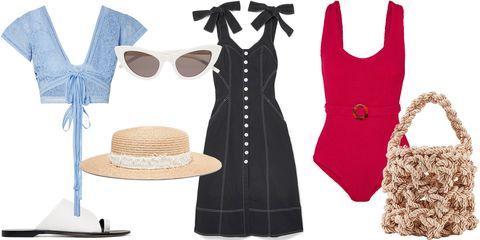 Clothing, White, Dress, Fashion, Footwear, Sleeveless shirt, Outerwear, Little black dress, Fashion accessory, Shoe,