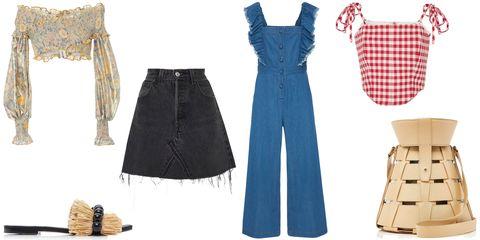 Clothing, Blue, Dress, Jeans, Fashion, Denim, Footwear, Costume design, Fashion design, Trousers,