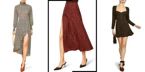 Clothing, Dress, Fashion model, Fashion, Cocktail dress, Footwear, Outerwear, Leg, Day dress, Sheath dress,
