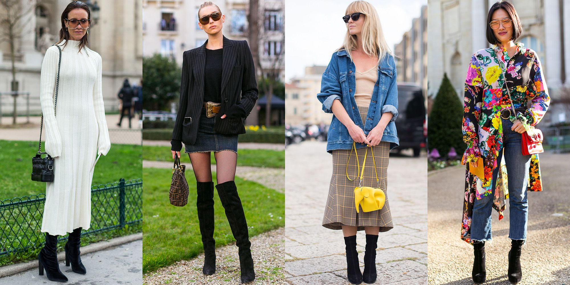 it\u0027s time to move beyond breezy sundresses and bikinis and start  plotting your layering tactics for fall. With white hot boots, fresh denim  trends,