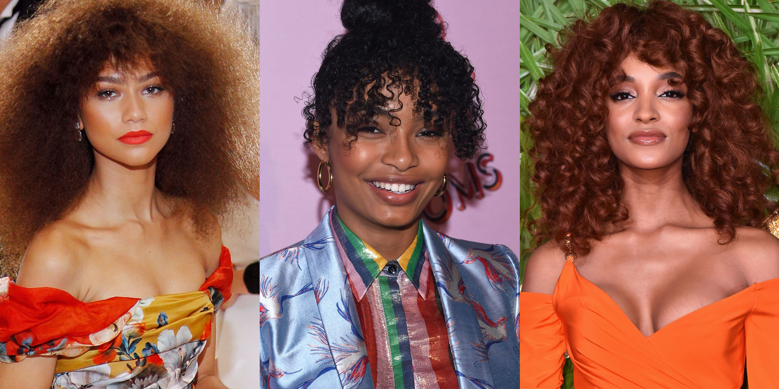 32 Celebrity Curly Hairstyles We Love
