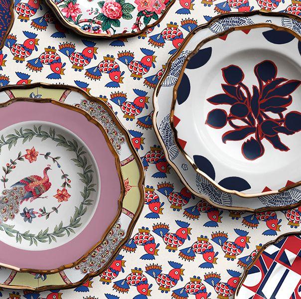Dishware, Plate, Porcelain, Ceramic, Tableware, Dinnerware set, Platter, Serveware, Pattern, earthenware,