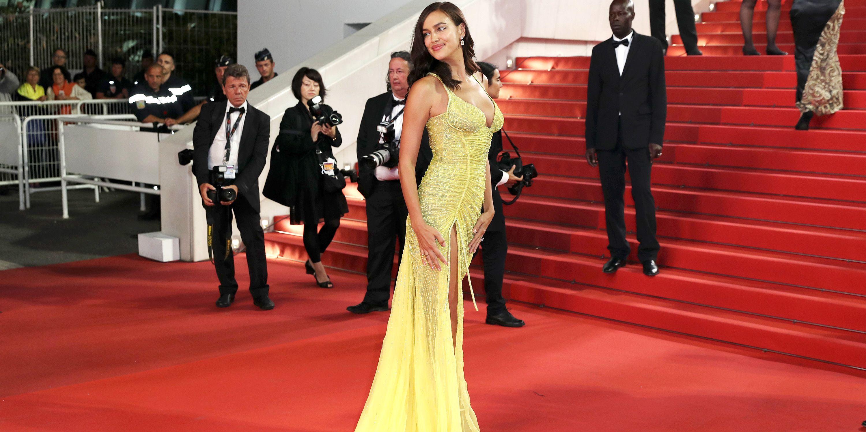 Irina Shayk at Cannes Film Festival 2017 - Irina Shayk In Yellow ...
