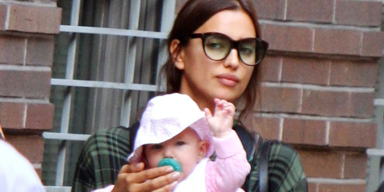 Irina Shayk And Baby Photographed In Nyc Irina Shayk