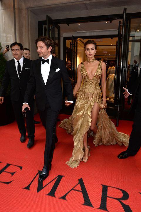 Irina Shayk And Bradley Cooper Make Rare Red Carpet Appearance At 2018 Met Gala