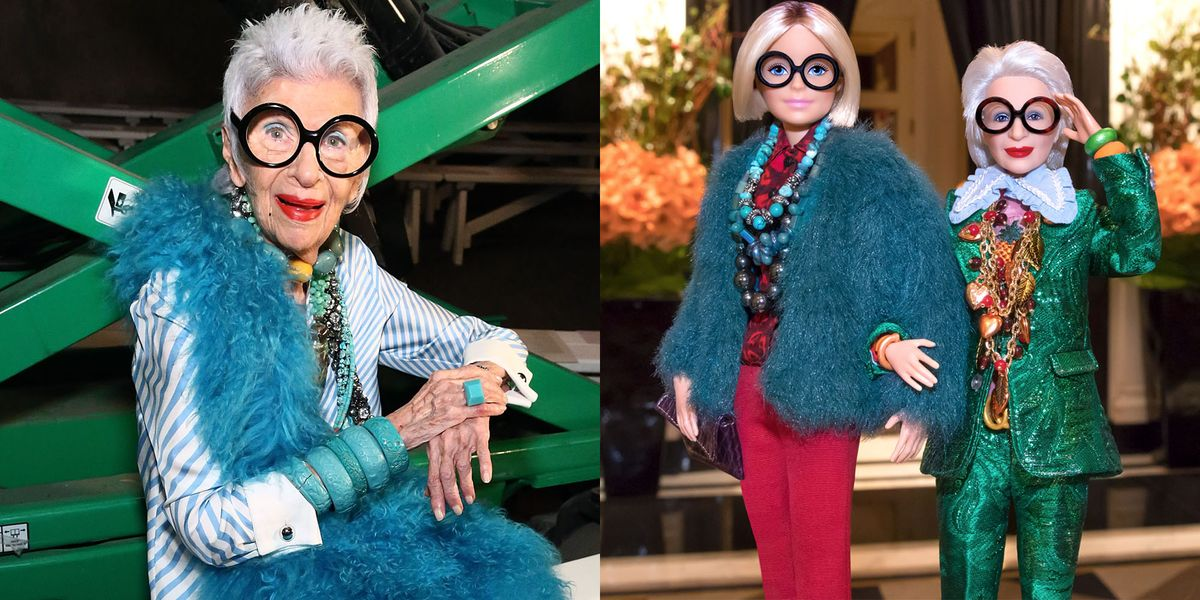 Iris Apfel Just Became The Oldest Person To Have A Barbie
