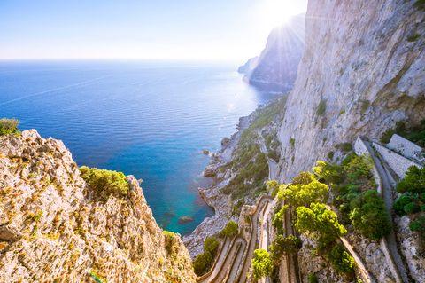 Cliff, Coast, Sea, Klippe, Coastal and oceanic landforms, Natural landscape, Promontory, Rock, Sky, Cape,