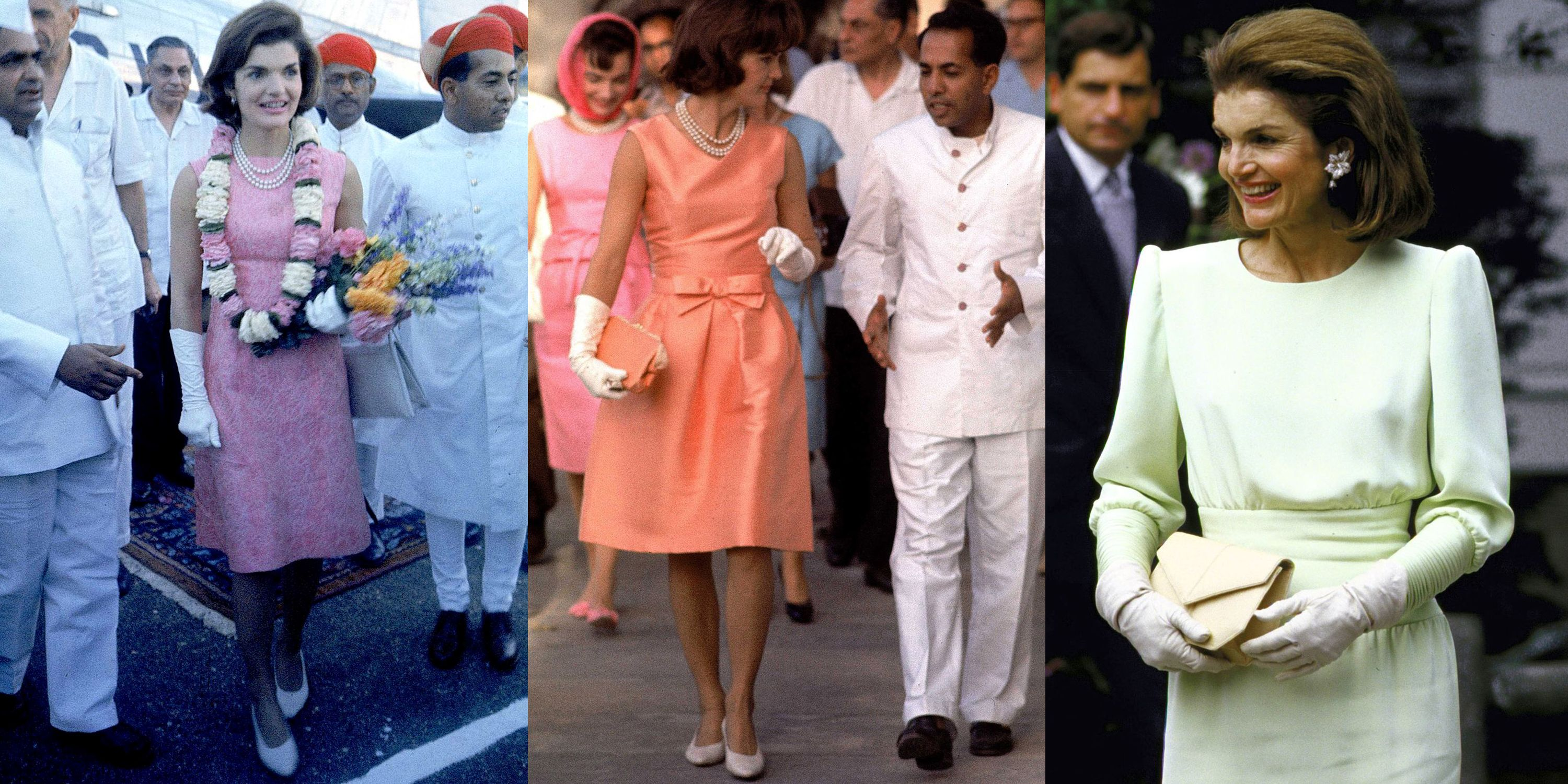 c340b3f5e9f8 Iconic Jackie Kennedy Fashion Pictures - Style Photos of Jackie O