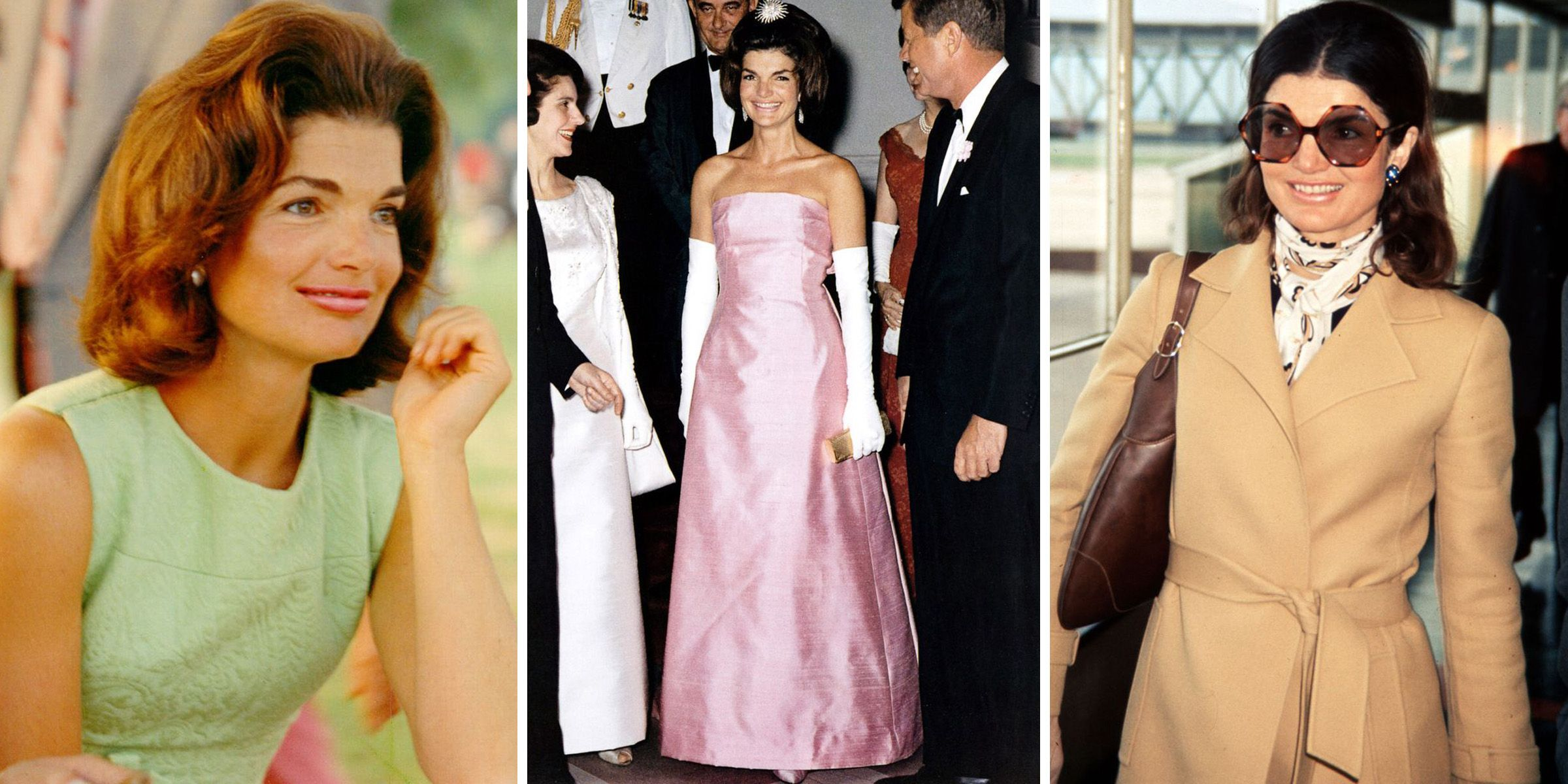 A Look Back at Jackie Kennedy Onassis's Iconic Style