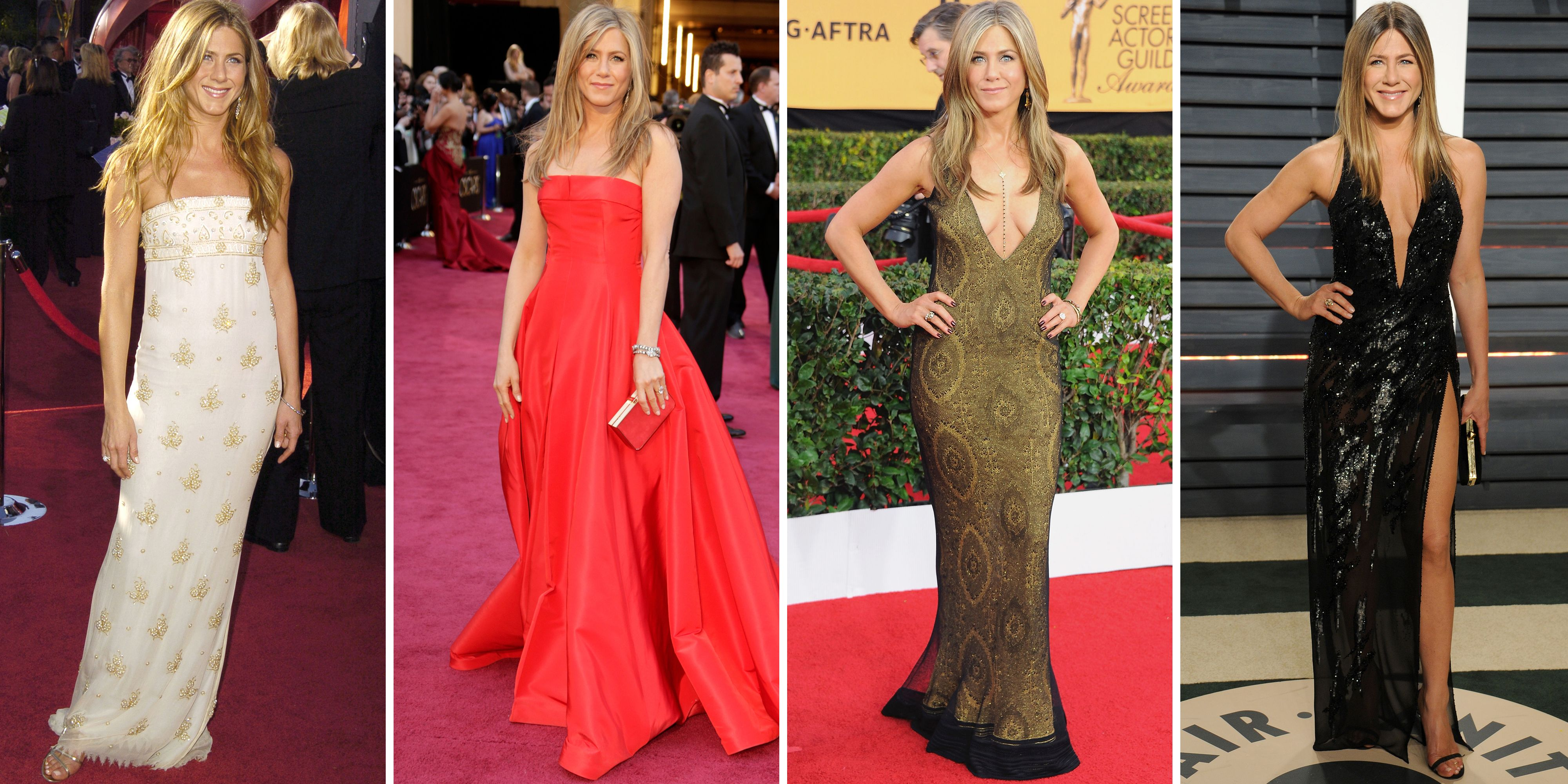 Jennifer Aniston's Best Red Carpet Looks of All Time