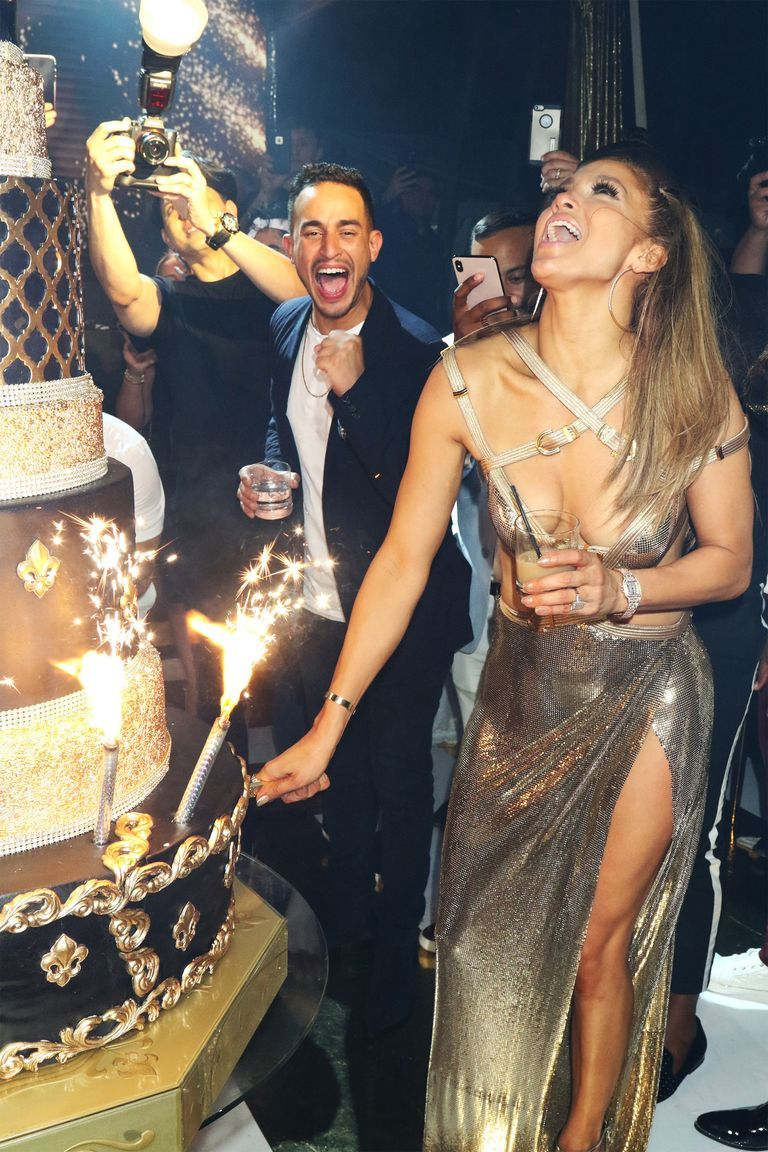 Jennifer Lopez 50th Birthday Photos Guests And Dress Details