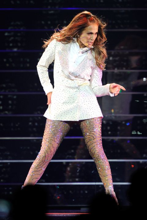 Jennifer Lopez S Best Concert Looks Throughout The Years