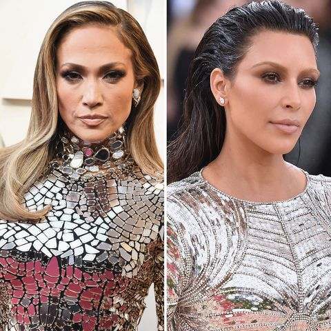 Jennifer Lopez's Oscar Gown Might Have Been Inspired By Kim Kardashian