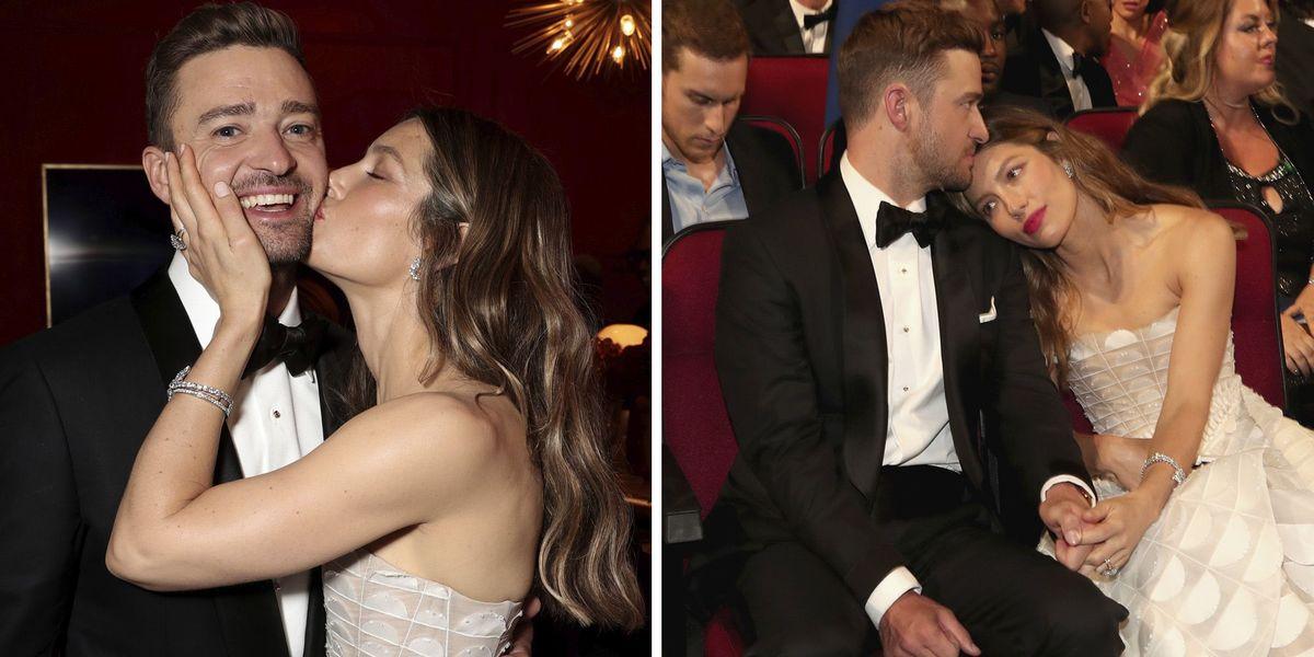 Jessica Biel And Justin Timberlake's PDA Moments At 2018