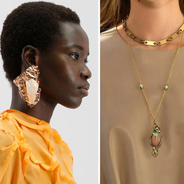 spring 2021 fashion week runway jewelry