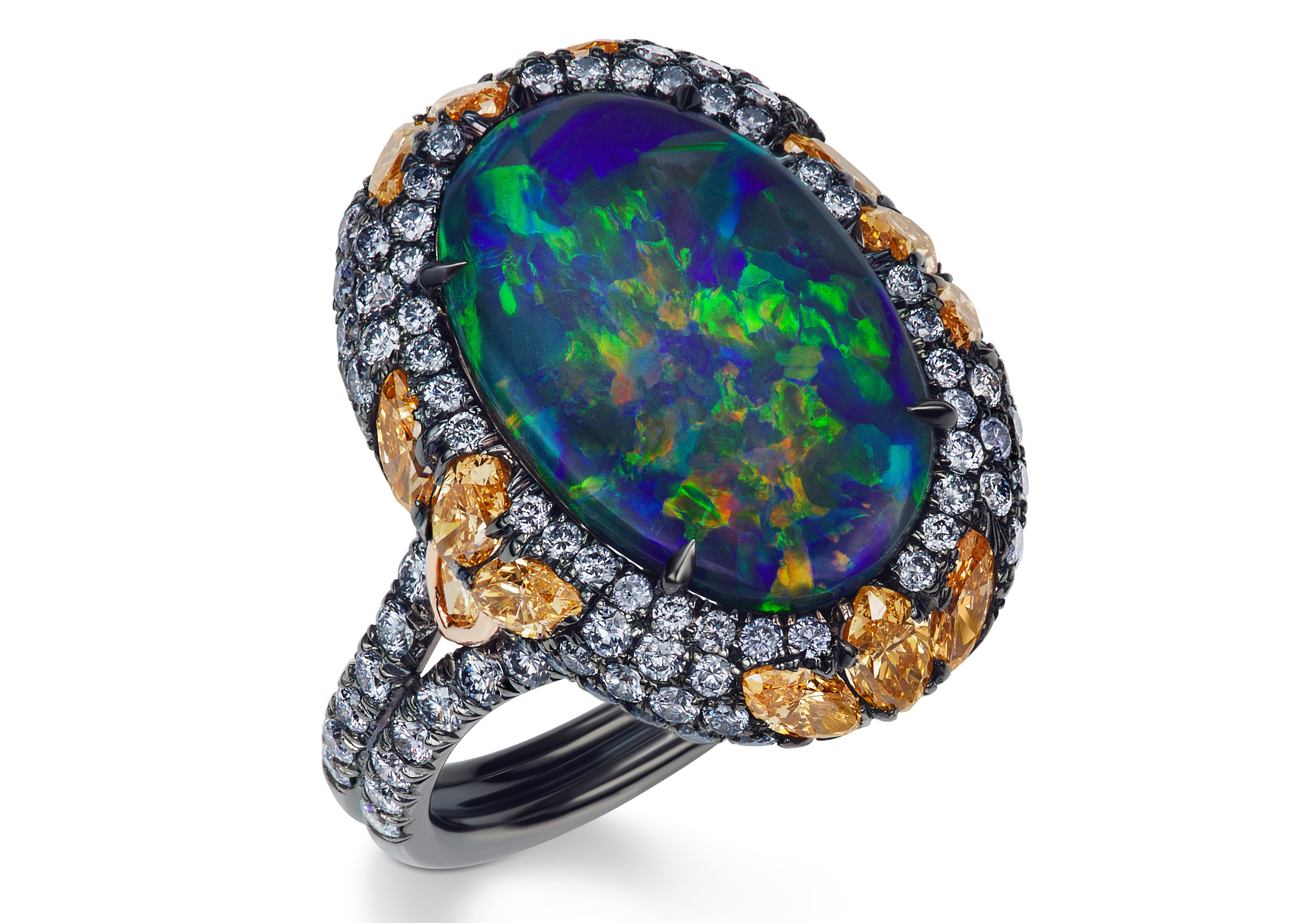 engagement opal basin ring boulder erie rings eb