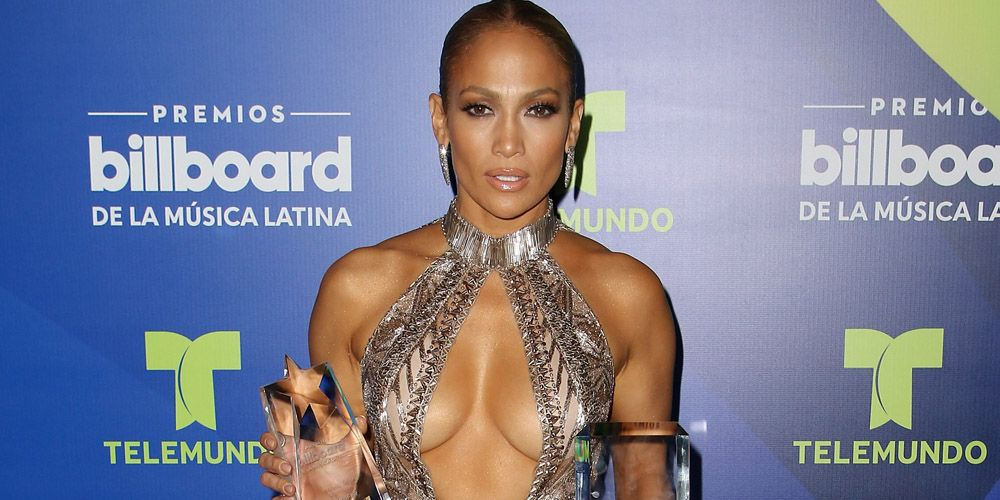 Jennifer Lopez Wore Not One But Two Naked Dresses On The Red Carpet Last  Night