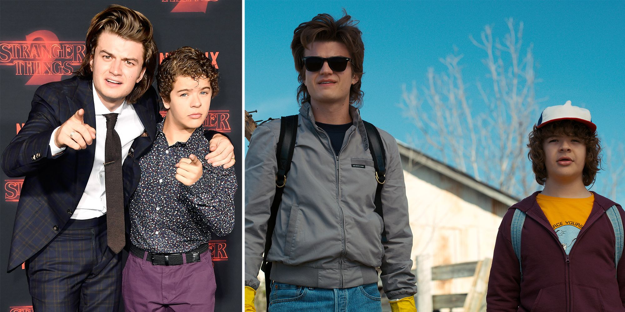 Steve And Dustin S Stranger Things Friendship Wasn T Planned Joe Keery And Gaten Matarazzo Real Like Friends Joseph david keery (born april 24, 1992) is an american actor and musician. steve and dustin s stranger things