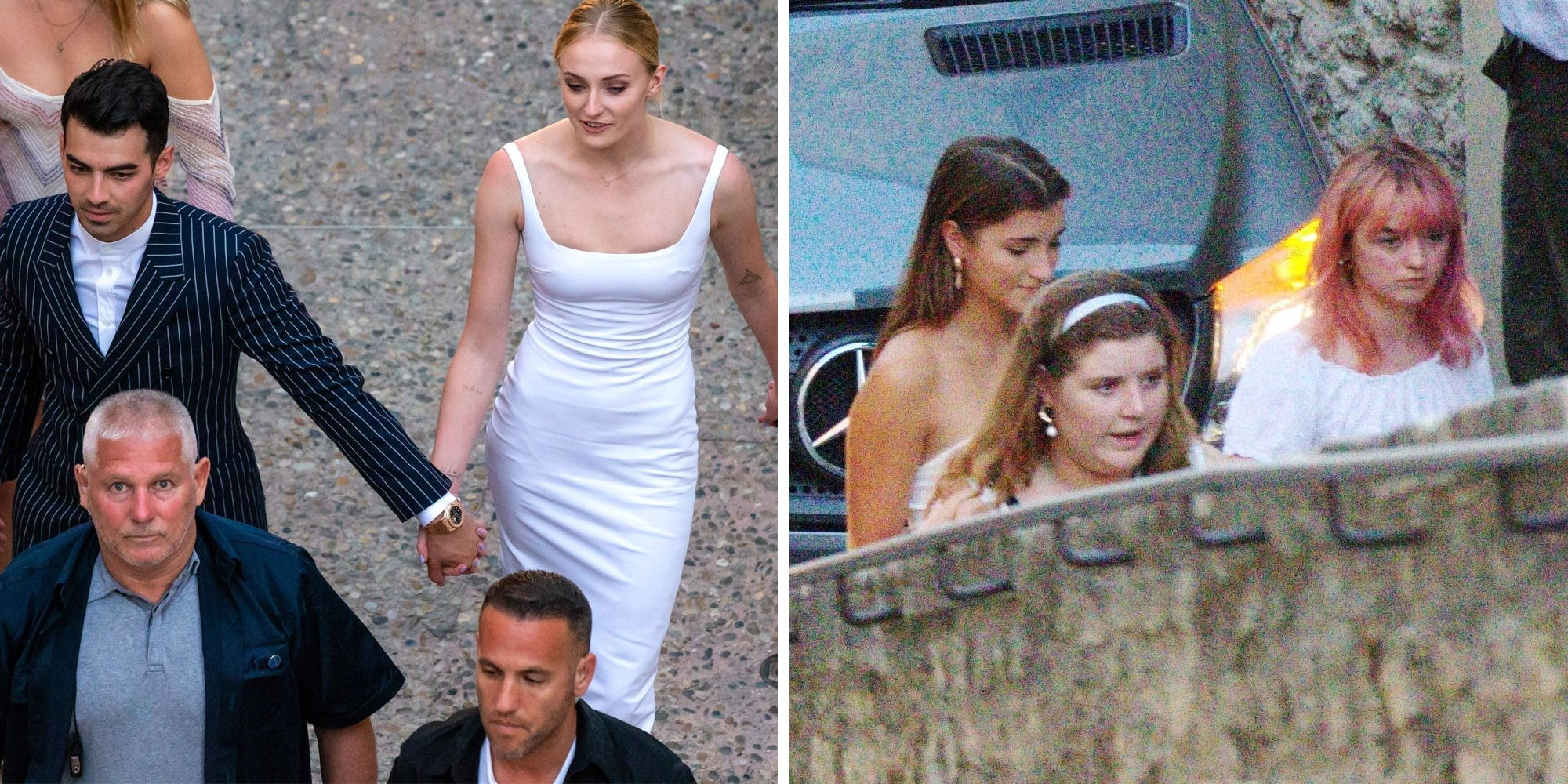 Sophie Turner Wedding.Maisie Williams Joins Sophie Turner S Pre Wedding Celebrations In France