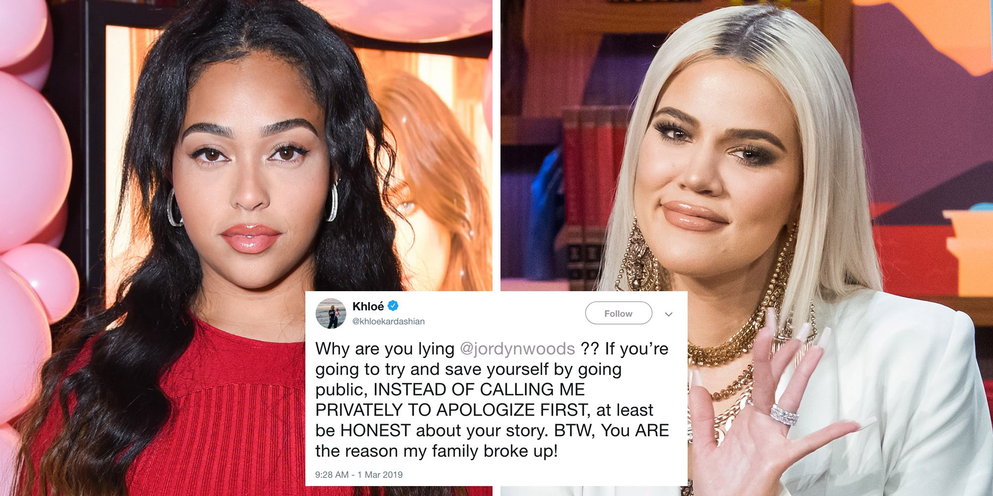30+ Best Twitter Reactions to Jordyn Woods' Red Table Talk