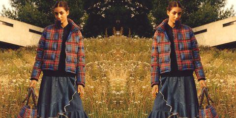 Plaid, Tartan, Clothing, Pattern, Textile, Fashion, Design, Outerwear, Grass, Adaptation,