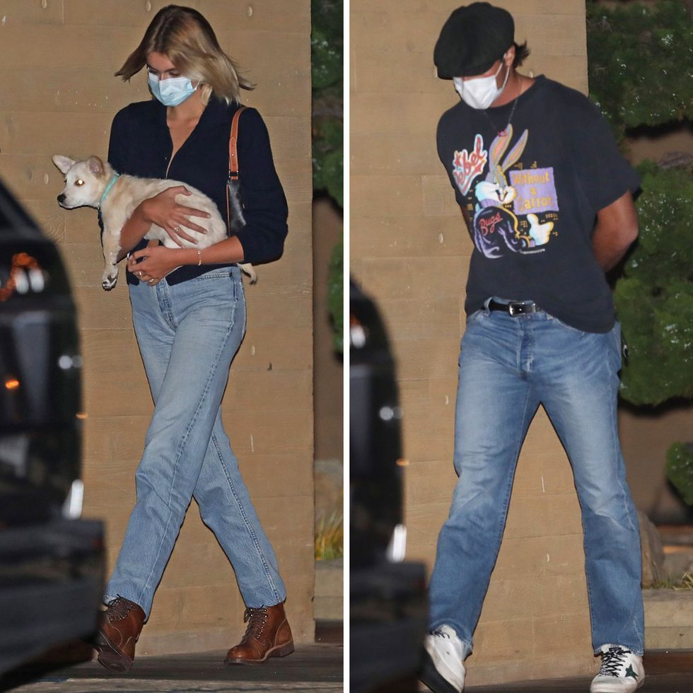 Kaia Gerber And Jacob Elordi Have Dinner Together In Malibu