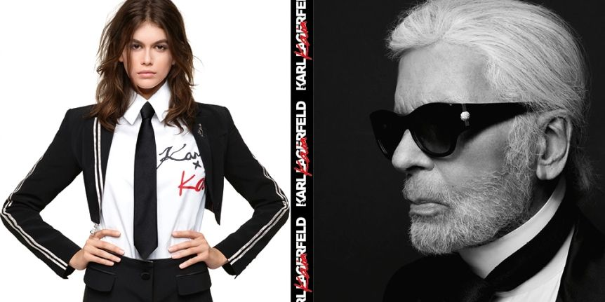 dbcd9beadf4e Kaia Gerber and Karl Lagerfeld s Fashion Collaboration Is Here