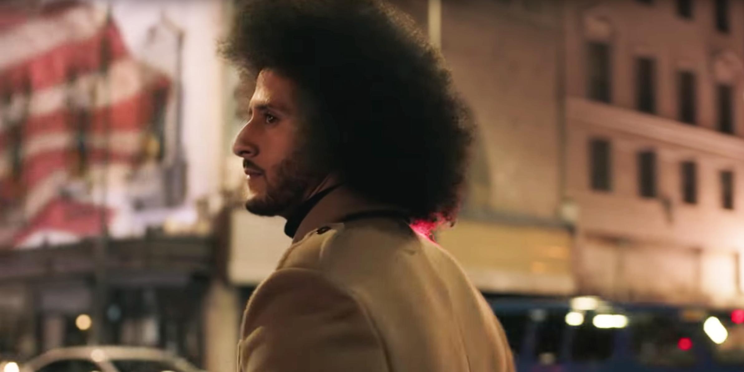 constantemente tono Púrpura  Colin Kaepernick's Moving New Nike Commercial Urges Us To