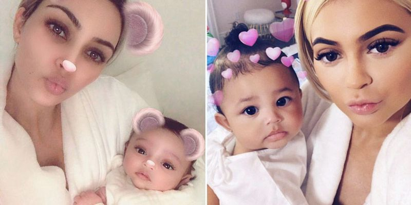 03832411c6f08 All Chicago West Baby Photos Timeline - Kim Kardashian Daughter Instagram