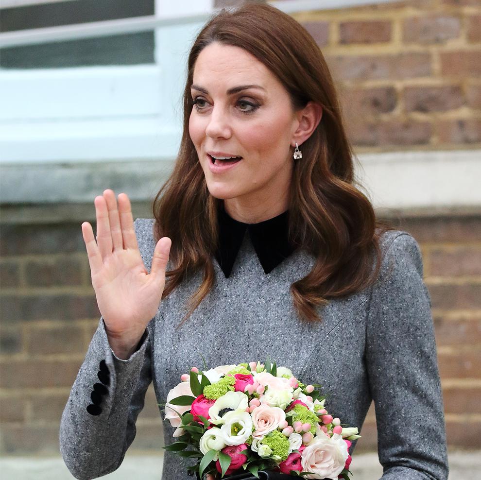 Kate Middleton Channeled Princess Charlotte's Signature Royal Wave