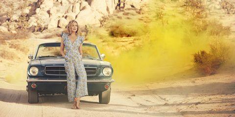 Land vehicle, Vehicle, Car, Landscape, Classic car, Bumper, Family car, Off-roading, Muscle car,