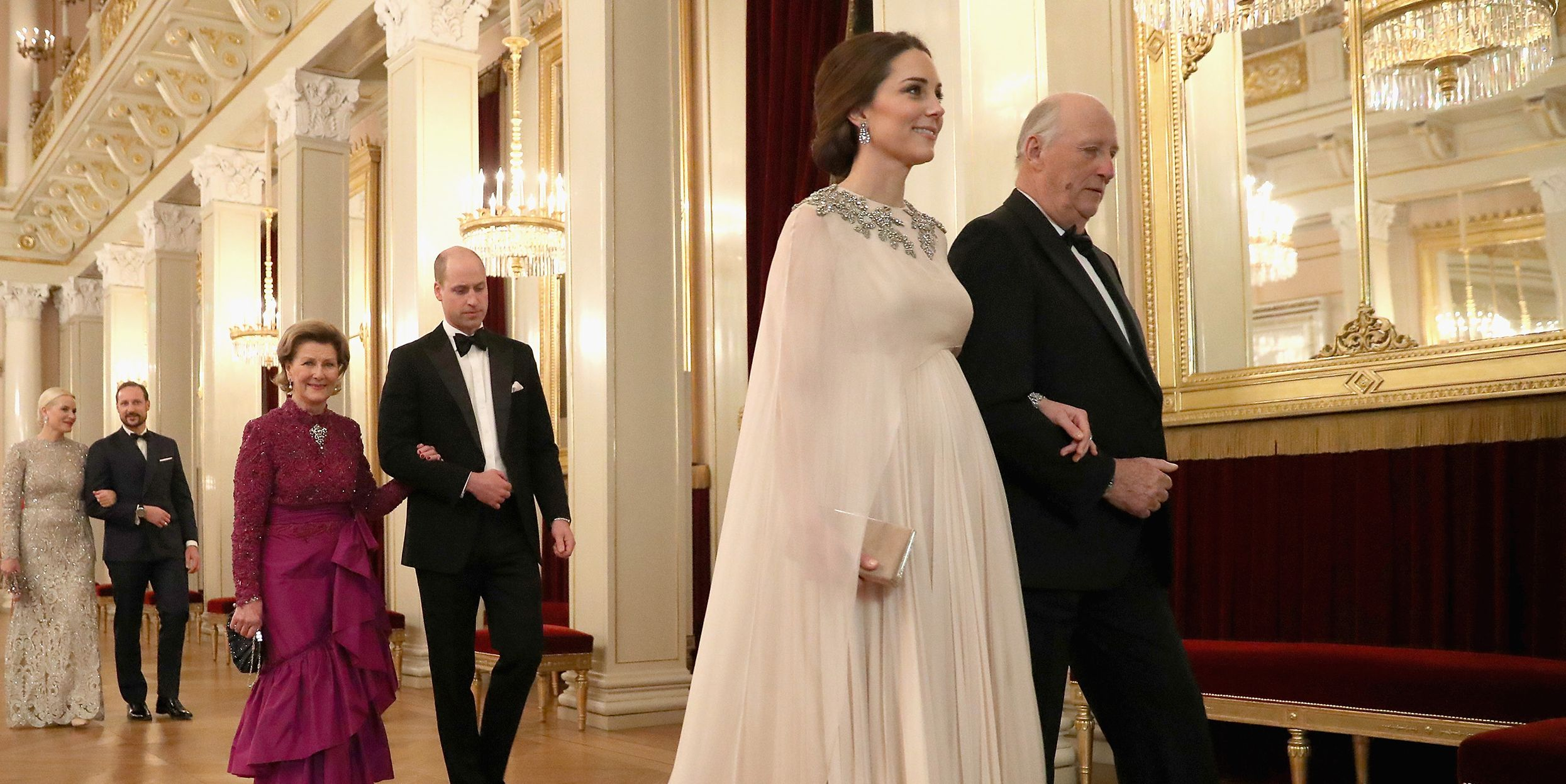 Kate Middleton In Alexander Mcqueen Gown Kate Middleton And Price