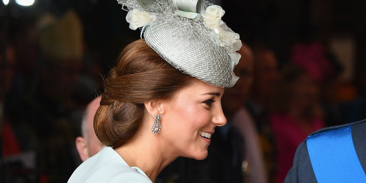 This Is Why Kate Middleton Likes To Wear Hairnets Kate Middleton